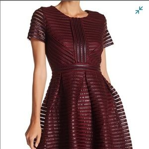 SALE Romeo & Juliet Short Sleeve Organza Dress NWT